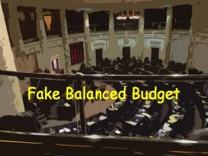Fake balanced budget