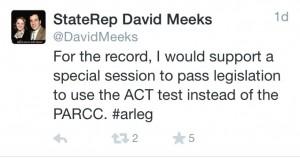 D Meeks tweet