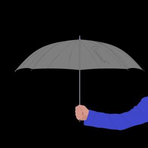 simple-umbrella Black